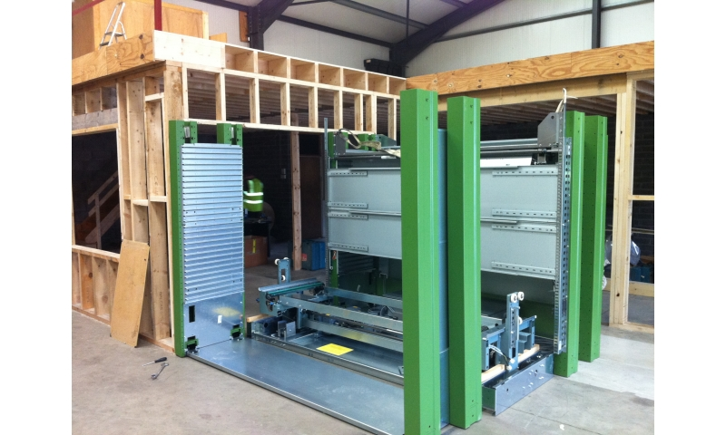 John Deere Forestry in Wicklow install Kardex in Spare Parts Department